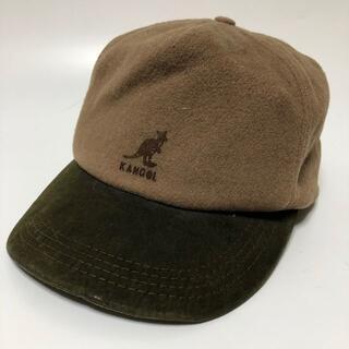 KANGOL - KANGOL カンゴール キャップ 帽子 バイカラー ブラウン K063