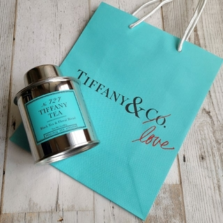 ティファニー(Tiffany & Co.)の【ぴい様専用】ティファニーティー ブラックティー&フローラルブレンド 86g(茶)