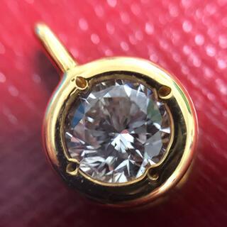 ☆ 0.33ct 一粒 ダイヤモンドペンダント ☆ k18yg イエローゴールド