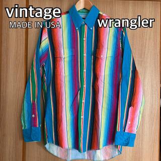 ラングラー(Wrangler)のvintage 80's〜90's wrangler ラングラー USA製(シャツ)