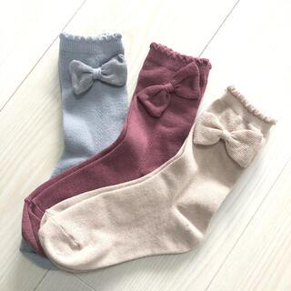 petit main - petit main ミドル丈 靴下 3色セット