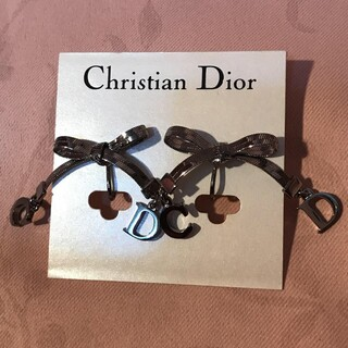 クリスチャンディオール(Christian Dior)のChristian Dior リボン イヤリング 片耳のみ(イヤリング)