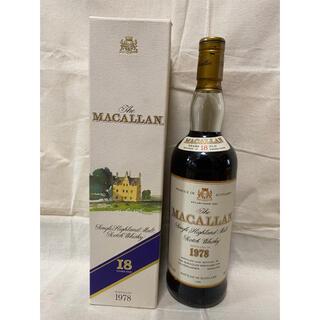 サントリー - The MACALLAN ザ・マッカラン 18年 1978 ウイスキー 箱付き