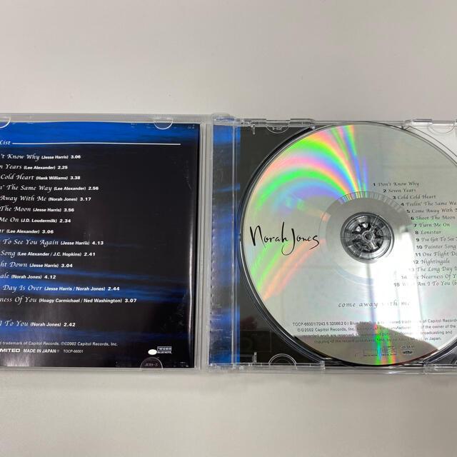 ノラジョーンズ come away with me エンタメ/ホビーのCD(ポップス/ロック(洋楽))の商品写真