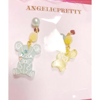 Angelic Pretty - ジェリーとはにかみベアイヤリング