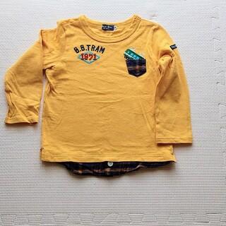 ミキハウス(mikihouse)のマリメッコさん専用 美品 ミキハウス ブラックベア ロンT 100cm(Tシャツ/カットソー)