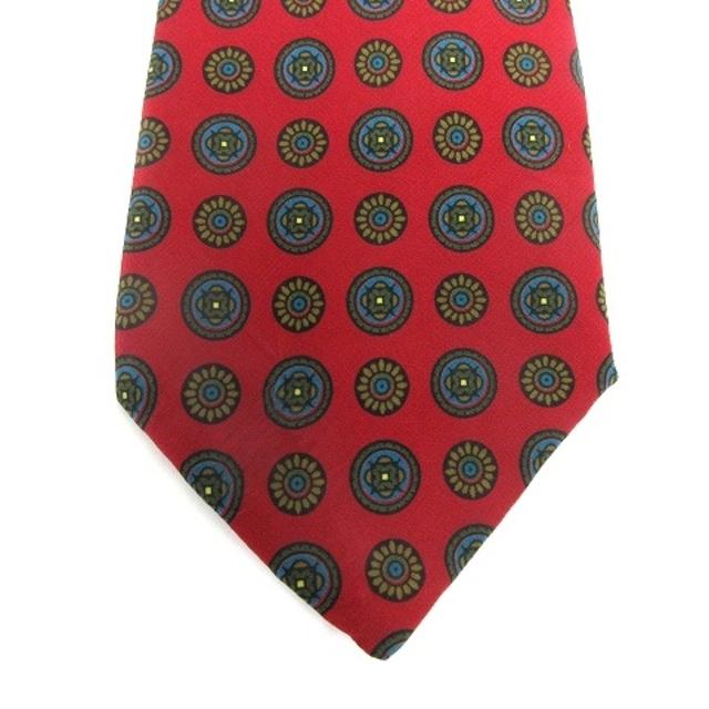 FENDI(フェンディ)のフェンディ FENDI ネクタイ レギュラータイ 総柄 シルク レッド 赤 メンズのファッション小物(ネクタイ)の商品写真