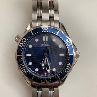 OMEGA - 自動巻ブルー腕時計