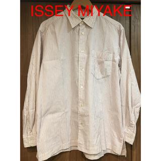 イッセイミヤケ(ISSEY MIYAKE)の【ISSEY MIYAKE マルチストライプシャツ】(シャツ)