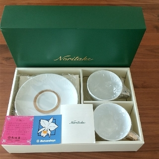 Noritake - 【新品・未使用】ノリタケ カップ&ソーサー