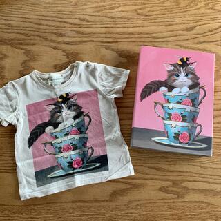 グッチ(Gucci)の値下げ‼️GUCCI ベビーTシャツ 猫柄(Tシャツ)