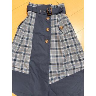 REDYAZEL - レディアゼル 配色スカート
