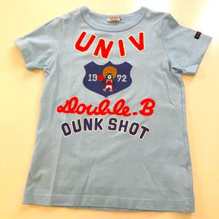 DOUBLE.B - 美品 ダブルビー Tシャツ 120cm