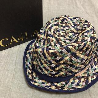 カシラ(CA4LA)のCA4LA 麦わら帽子 ハット 箱付き(ハット)