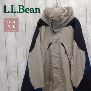 エルエルビーン(L.L.Bean)のレア☆エルエルビーン ロングジャンパー フード付 マウンテンパーカー(マウンテンパーカー)
