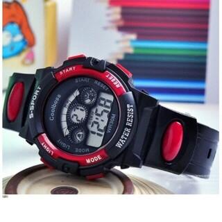 日本語説明付き☆新品送料込み キッズ子供用BOYS 激安☆デジタル腕時計(腕時計)