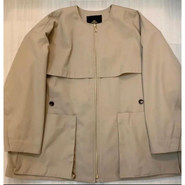 Drawer(ドゥロワー)のdrawer  ノーカラージャケット レディースのジャケット/アウター(ノーカラージャケット)の商品写真