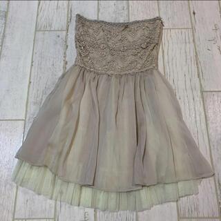 マーキュリーデュオ(MERCURYDUO)のMERCURYDUO  ドレス(ミニドレス)