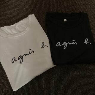 アニエスベー ロゴTシャツ 2枚組