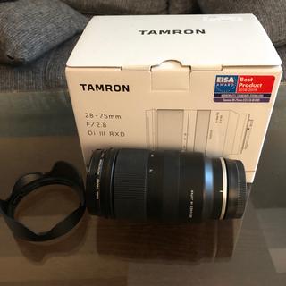 TAMRON - タムロン TAMRON 28-75mm F/2.8 DiIII RXD