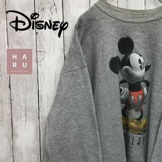 ディズニー(Disney)のディズニー ミッキーマウス プリントトレーナー スウェット ペアルック ビック(スウェット)
