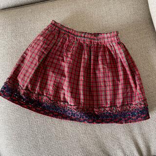 familiar - familiarチェック スカート