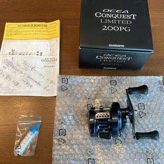 SHIMANO - 新品・未使用・送料無料 オシア コンクエスト リミテッド 200PG