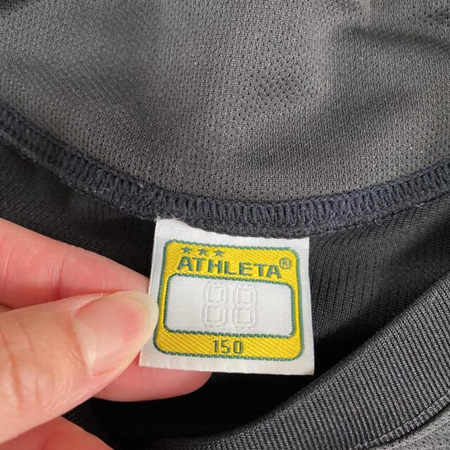 ATHLETA(アスレタ)のathleta アスレタ 半袖 プラシャツ サッカー 150 キッズ/ベビー/マタニティのキッズ服男の子用(90cm~)(Tシャツ/カットソー)の商品写真