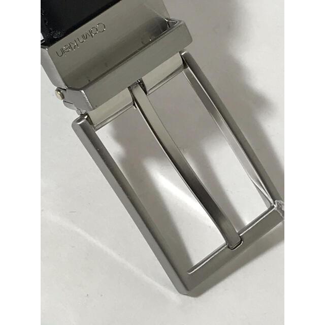 Calvin Klein(カルバンクライン)の正規品 新品カルバンクライン 高級牛革12100円 リバーシブルベルト メンズのファッション小物(ベルト)の商品写真