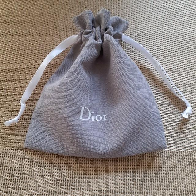 Dior(ディオール)のディオール巾着 レディースのファッション小物(ポーチ)の商品写真