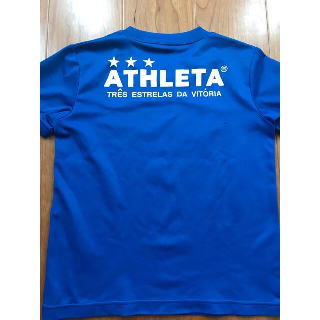 ATHLETA(アスレタ)のアスレタ  サッカー 半袖シャツ スポーツ/アウトドアのサッカー/フットサル(ウェア)の商品写真
