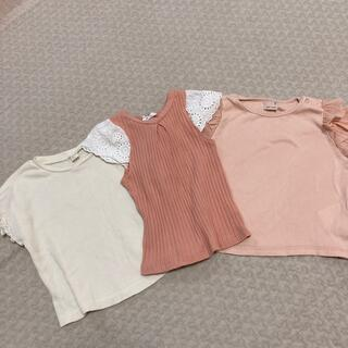 petit main - 女の子Tシャツ3枚セット90