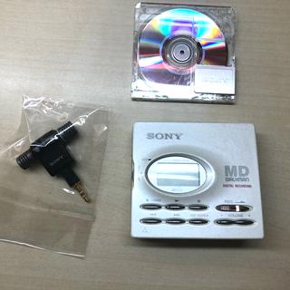 SONY - sony MD WALKMAN MZ-R91 本体 録音再生動作品