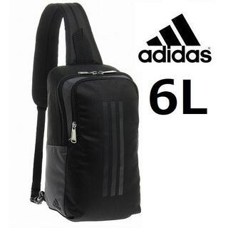 新製品■adidas《アディダス》ボディバッグ ワンショルダー6L ブラック