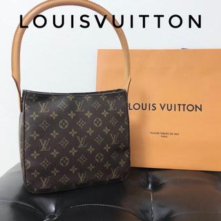 LOUIS VUITTON - ルイヴィトンルーピングMMモノグラムショルダーバッグ