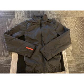 プラダ(PRADA)の美品 中古 PRADA プラダスポーツ ブルゾン ジャケット ニット 羽織 (ブルゾン)