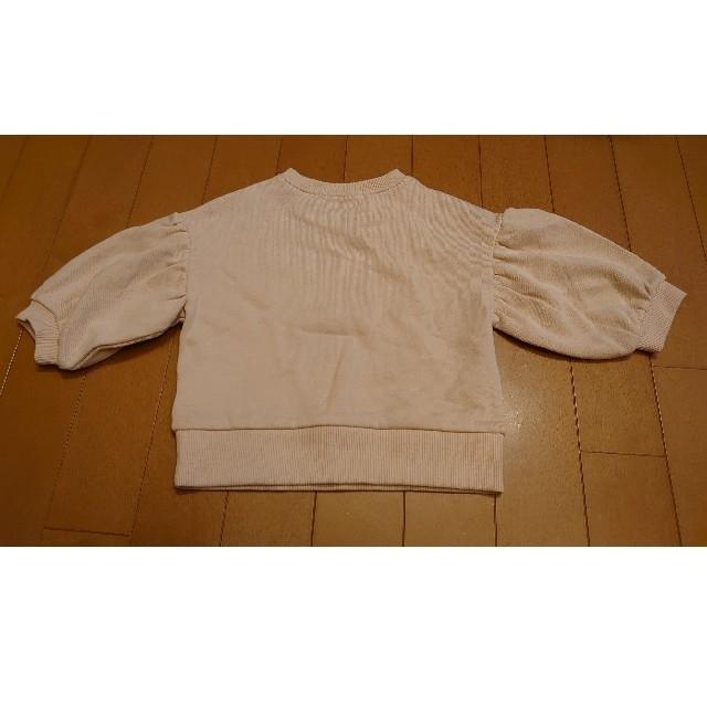 しまむら(シマムラ)のミッフィー トレーナー キッズ/ベビー/マタニティのキッズ服女の子用(90cm~)(Tシャツ/カットソー)の商品写真