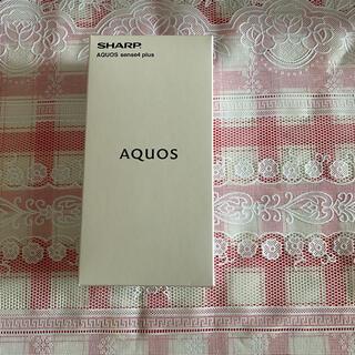 AQUOS - AQUOS sense4 plus (SH-M16) Black 未使用