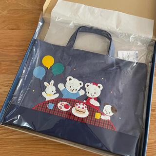 familiar - プレゼント包装 ファミリア familiar デニムバッグ レッスン お誕生日
