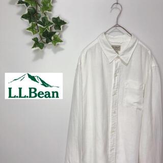 エルエルビーン(L.L.Bean)の【L.L.Bean】リネンシャツ リネン100% ゆったり(シャツ)
