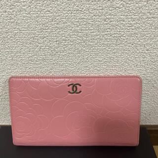 CHANEL - chanel シャネルピンク財布