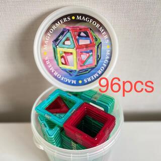 BorneLund - MAGFORMERS マグフォーマー 96ピースセット 美品