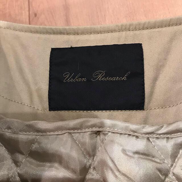 URBAN RESEARCH(アーバンリサーチ)のアーバンリサーチ 中綿ライナー付 ノーカラー トレンチコート レディースのジャケット/アウター(トレンチコート)の商品写真