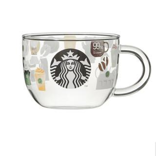 Starbucks Coffee - スターバックスコーヒーグラスマグ
