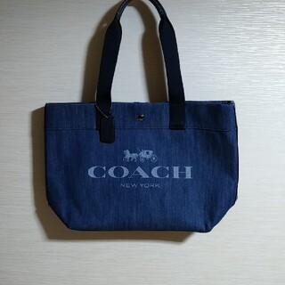COACH - COACH デニム トートバッグ コーチ