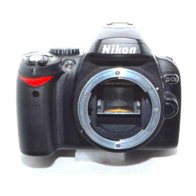 Nikon(ニコン)のNIKON D40X ダブルズームキット D40Xデジタル一眼レフカメラ スマホ/家電/カメラのカメラ(デジタル一眼)の商品写真