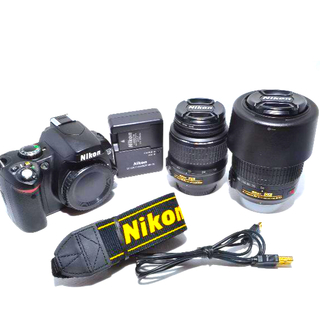 Nikon - NIKON D40X ダブルズームキット D40Xデジタル一眼レフカメラ