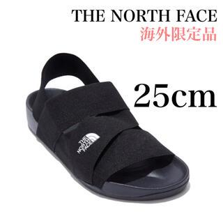 THE NORTH FACE - 85 日本未入荷 ノースフェイス ストラップ サンダル 黒 25cm