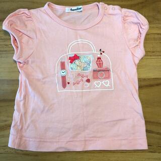 ファミリア(familiar)のfamiliar ピンクTシャツ(Tシャツ/カットソー)