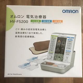 オムロン(OMRON)のオムロン電気治療器 HV-F5200(ボディマッサージグッズ)
